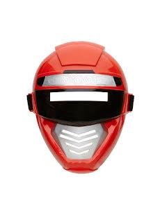 Barnmask Superhjälte, röd