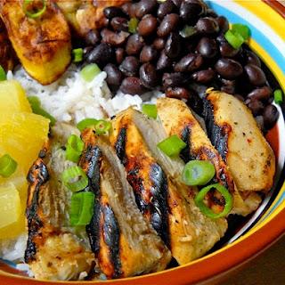 Jamaican Jerk Chicken Bowls Recipe