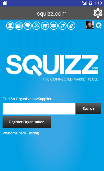 Squizz.com- screenshot