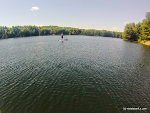 Photo: Calm waters for paddle boarding at Little River State Park by Taylor Drake