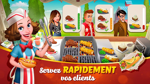 Tasty Town 🍔🍟 Jeu de restaurant & cuisine 🍦🍰 APK MOD – ressources Illimitées (Astuce) screenshots hack proof 2