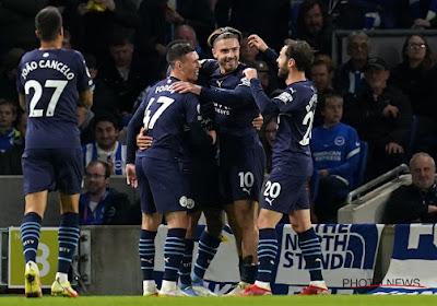 Brighton et Trossard s'inclinent lourdement face à Manchester City, De Bruyne monte au jeu