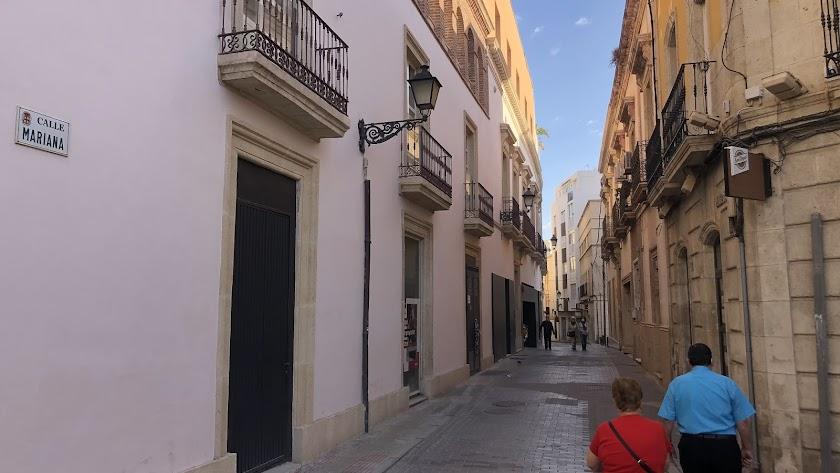 Calle Mariana, afectada por la primera fase de las obras