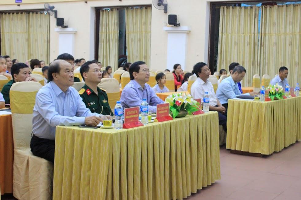 Các đại biểu tham dự lễ Sơ kết