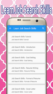 Learn Job Search Skills - náhled