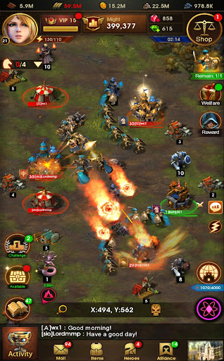 Glory of Thrones: War of Conquest 1.0.4 screenshots 12
