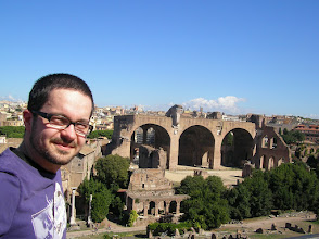 Photo: In the ancient city of Rome.