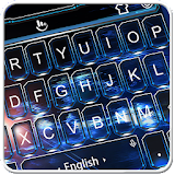 Calm Blue Water Keyboard Theme file APK Free for PC, smart TV Download