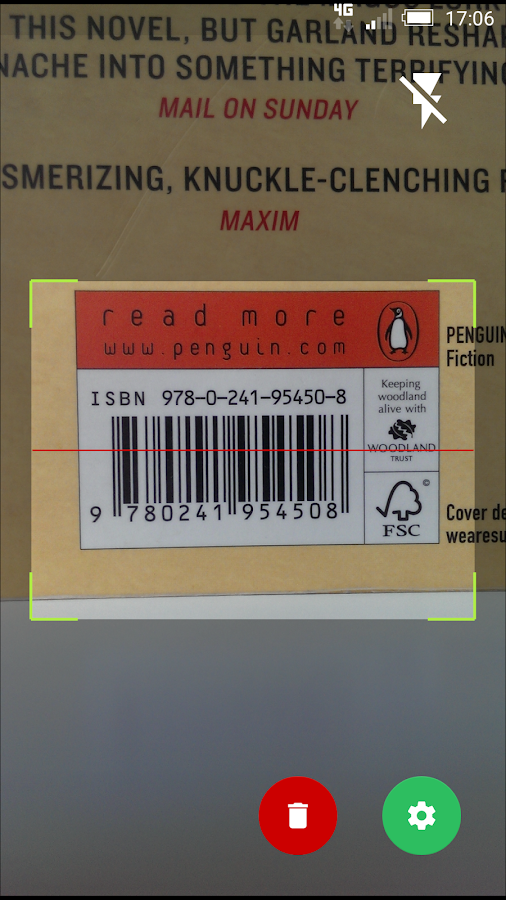 Barcode Notes- screenshot