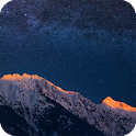 Mountains Night Live Wallpaper icon