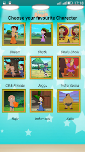 Sliding Puzzle With Bheem screenshot 1