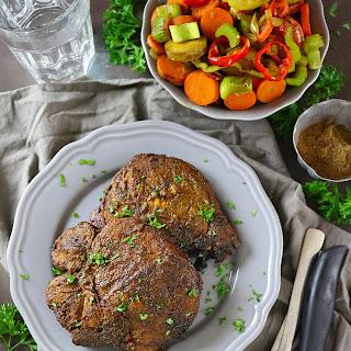 Turmeric & Garam Masala Spiced Grilled Pork.