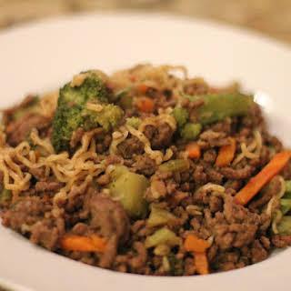 Beef Stir Fry Ramen Noodles Recipes.