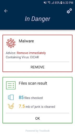 Antivirus Mobile - Cleaner, Phone Virus Scanner 1.0.10 screenshots 4