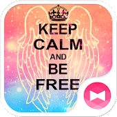 Theme-Keep Calm and Be Free-