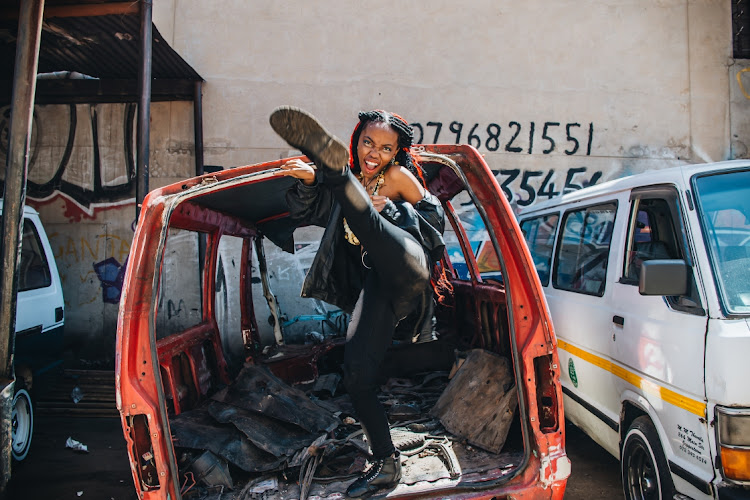 Known under the stage name Kebidoo (a play on the seTswana word for the colour red), the 24-year-old rapper has released her EP, Tsela Tsweu.