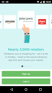 Easyfundraising - online shopping & fundraising- screenshot thumbnail
