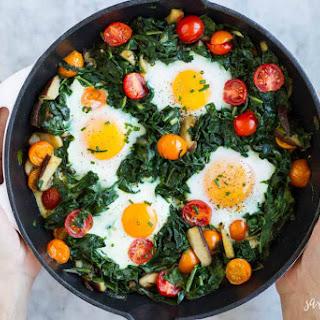 Easy Baked Eggs.