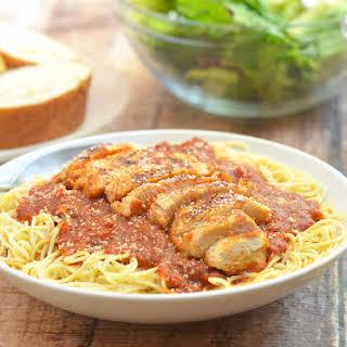 Spicy Cajun Chicken Pasta.