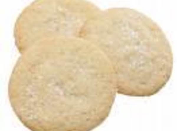 Light Crunch Sugar Cookies Recipe
