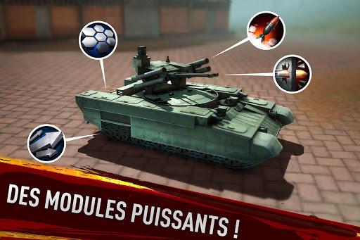 War of Tanks: PvP Blitz  captures d'u00e9cran 15