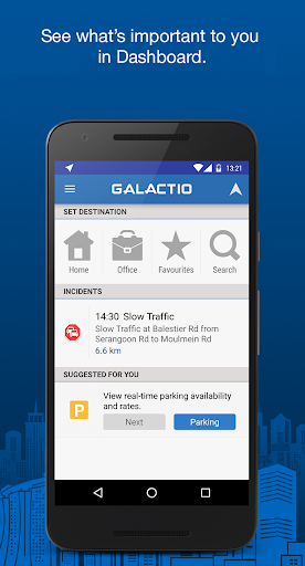 Galactio - Navigation & Maps for Urban Mobility Preview 2