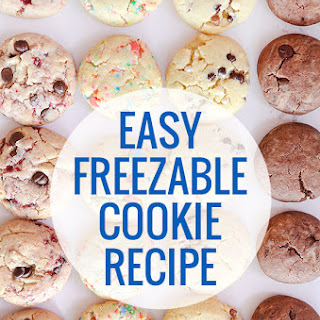 Easy Freezable Cookie.
