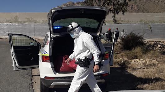 Localizados seis ciudadanos sirios en Pulpí tras 24 horas de viaje en patera