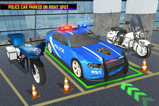 US Police Parking: Car Games 1.0 screenshots 1