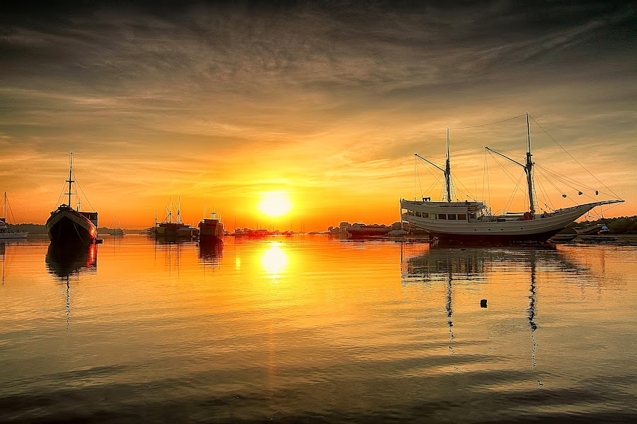 Feel this morning by Denny Iswanto - Landscapes Sunsets & Sunrises