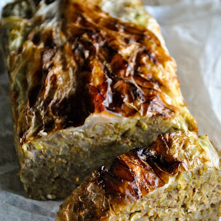 Vegan Lentil Loaf With Cabbage (gluten Free).