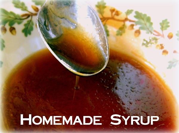 Homemade Syrup Recipe