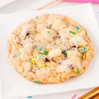 Birthday Cake Cookies.
