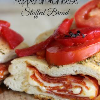 Pepperoni and Cheese Stuffed Bread