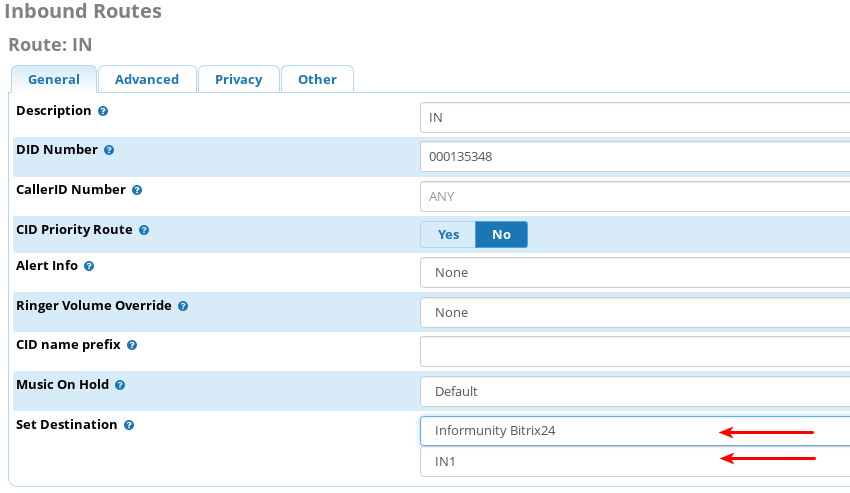 Bitrix24: Asterisk Integration