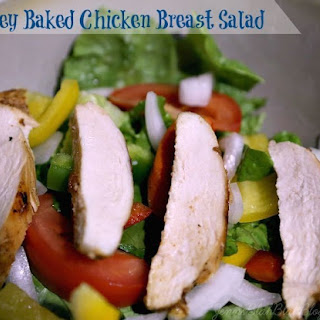 Honey Baked Chicken Breast Salad