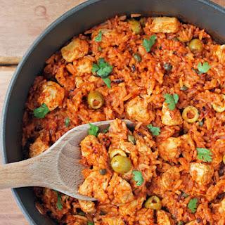 Spanish Chicken and Rice Skillet Recipe