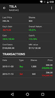 Stocks - Realtime Stock Quotes screenshot 05