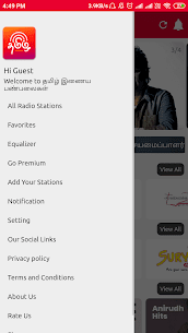All Tamil FM Radio Stations Online Tamil FM Songs App Download for Android 6