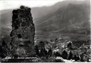 Photo: Aiello vista dal castello Collezione Eugenia Pagliaro