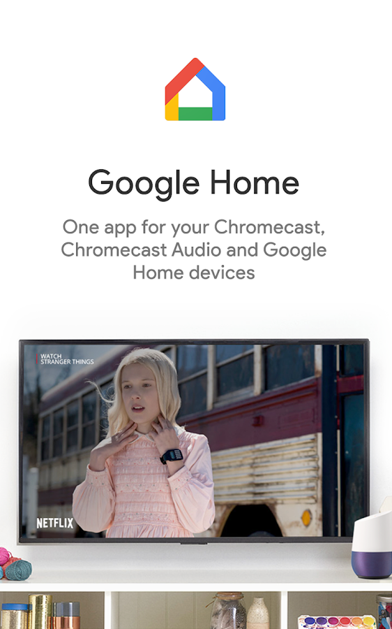 Google Home– captură de ecran