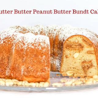 Nutter Butter Peanut Butter Bundt Cake.
