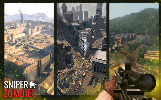 Sniper Zombies: Offline Game modavailable screenshots 19