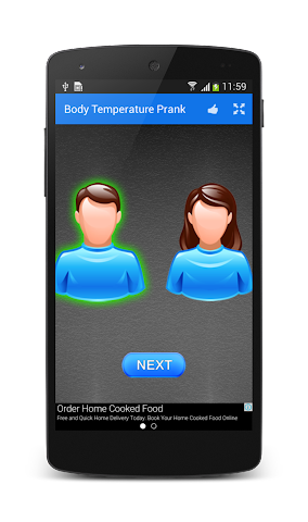android Finger Body Temperature Prank Screenshot 8