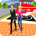 Rich Dad Luxury Life Happy Family Games icon