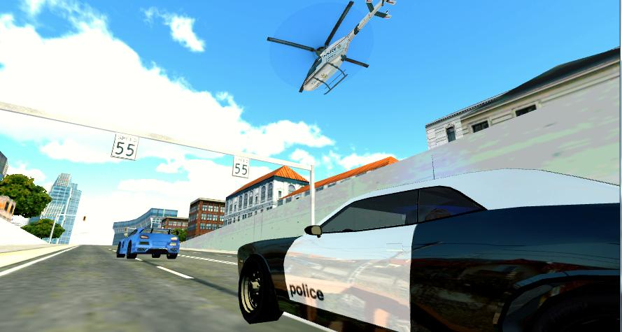 Police Helicopter Pilot 3D- screenshot