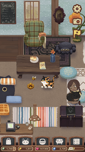 Furistas Cat Cafe - Cuddle Cute Kittens  screenshots 5
