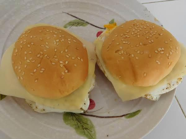 Ham-o, Egg-o, Cheese-o (sandwich) Recipe