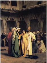 Photo: Ελληνίδες στο σκλαβοπάζαρο  Jean-Leon Gerome, The Slave Market, 1867, oil on canvas.