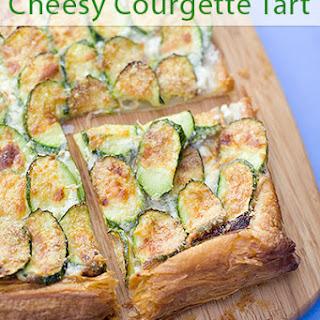 Courgette, Mascarpone and Parmesan Tart Recipe